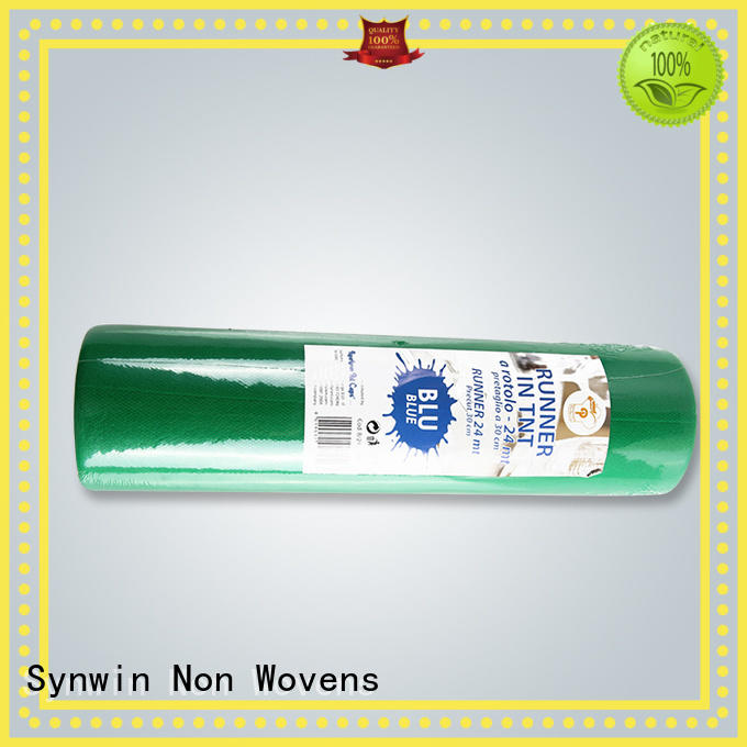 disposable table runners roll with good price for hotel Synwin Non Wovens