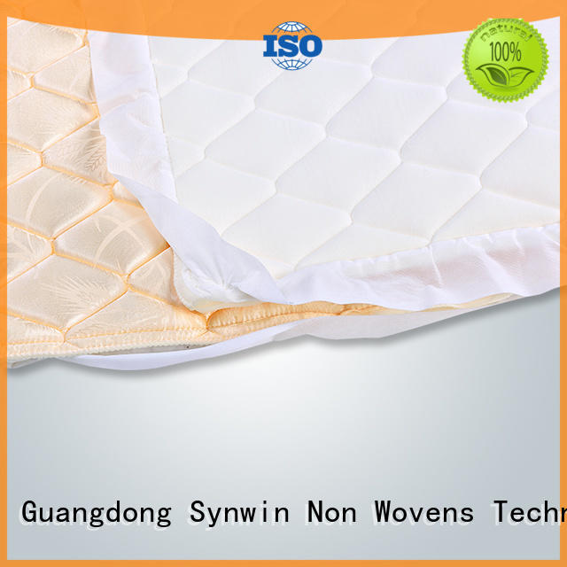 Quality Synwin Non Wovens Brand selling flange sky bedding mattress protector