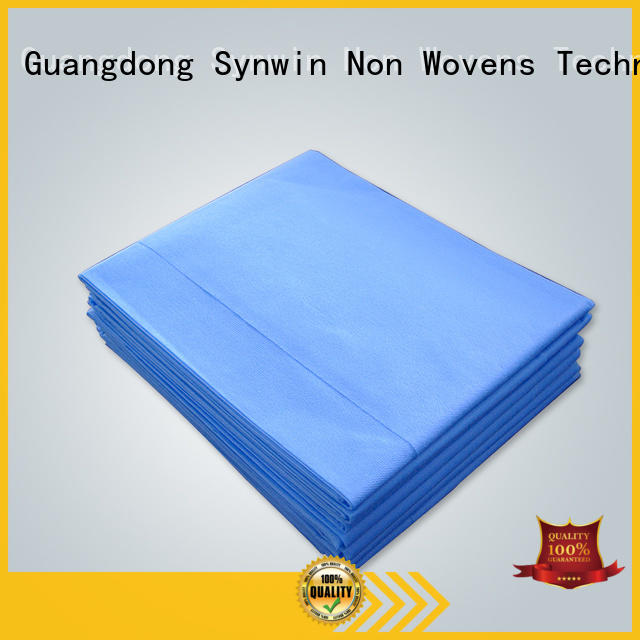 Synwin disposable bed sheets wholesale for tablecloth