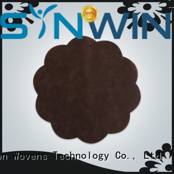 Synwin quality woven placemats personalized for tablecloth