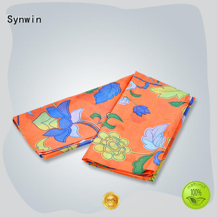 Synwin approved best fabric for sofa factory for tablecloth