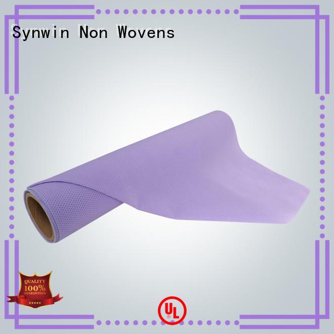 70gsm non raw non woven polypropylene fabric suppliers Synwin Non Wovens manufacture