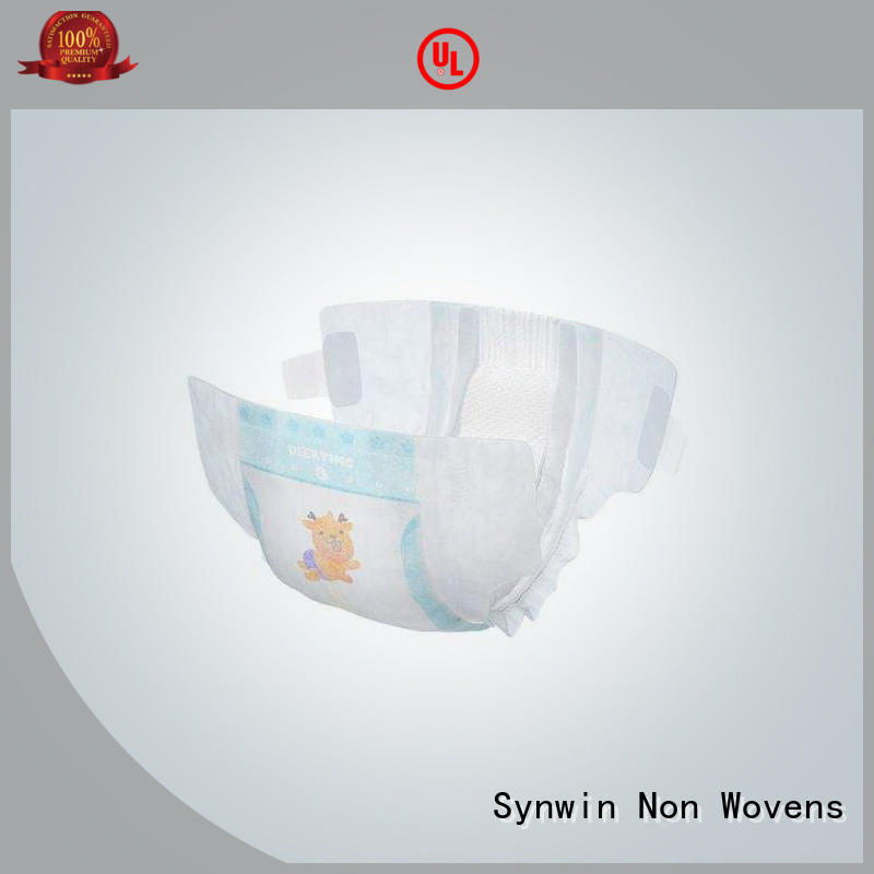 mat new hot selling non woven diaper Synwin Non Wovens manufacture