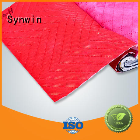 popular woven polypropylene fabric from China for hotel