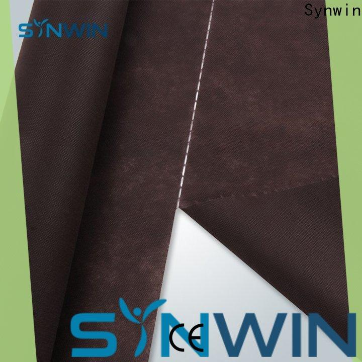 Synwin pp spunbond non woven fabric design company for household