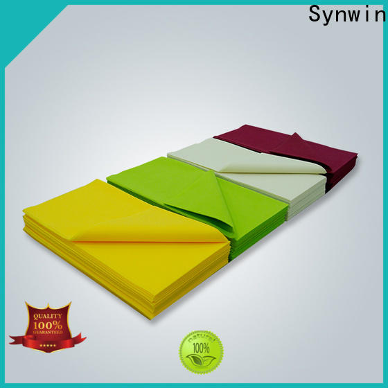 Synwin swtc001 non woven table cloth for business for hotel