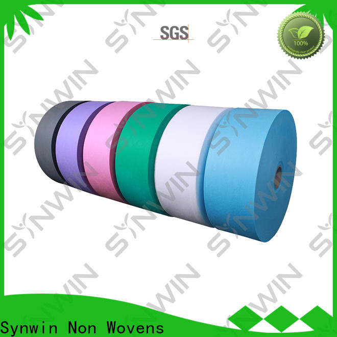 Synwin consumable spunbond non woven fabric suppliers for packaging