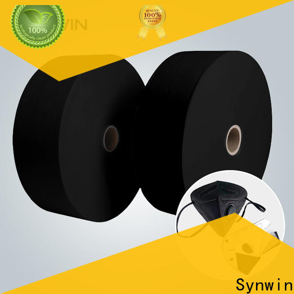 Custom 3 ply non woven face mask material suppliers for home