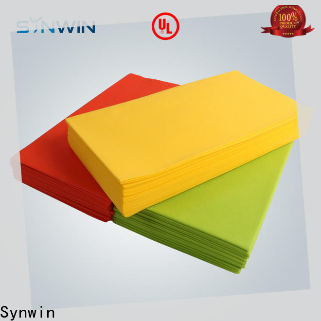 Synwin Wholesale nonwoven tablecloth company for hotel