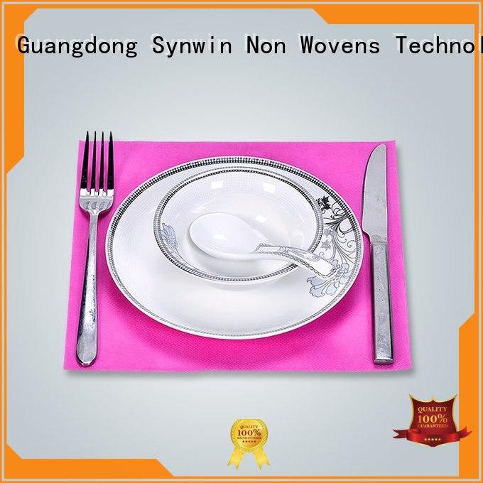 hot selling fabric placemats wholesale for tablecloth