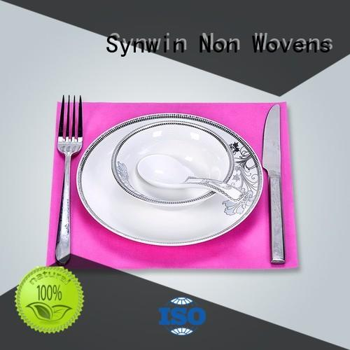 Synwin Non Wovens Brand gift small sanitary hydrophobic fabric placemats