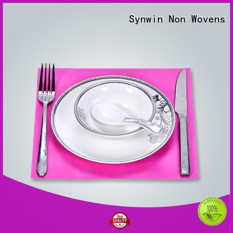 durable woven placemats factory price for tablecloth