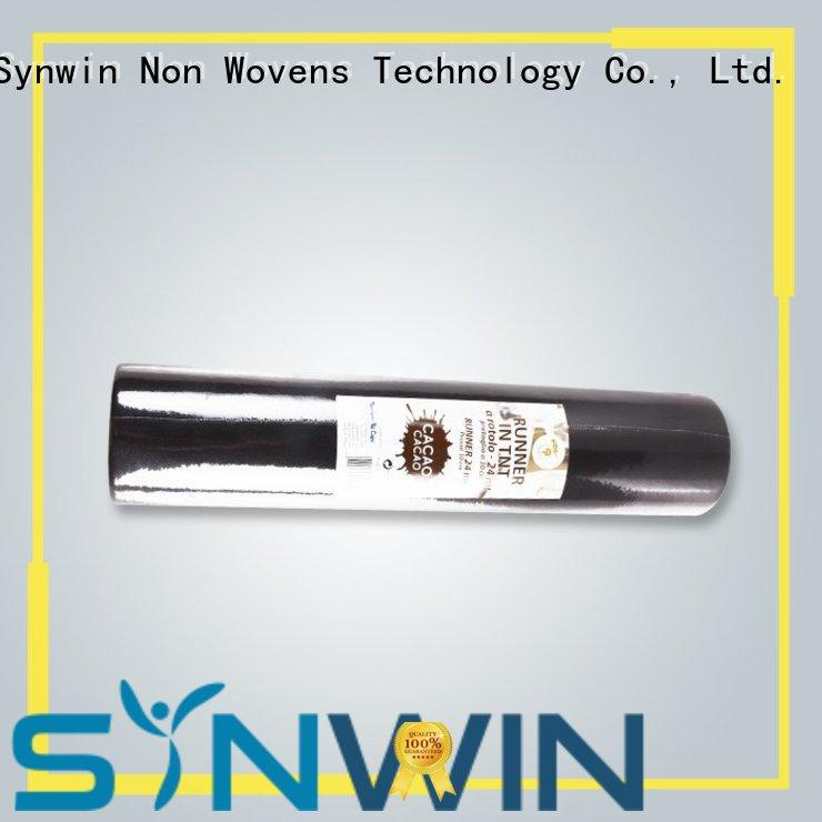Synwin reliable disposable table runners roll with good price for tablecloth