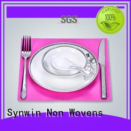 durable fabric placemats factory price for hotel