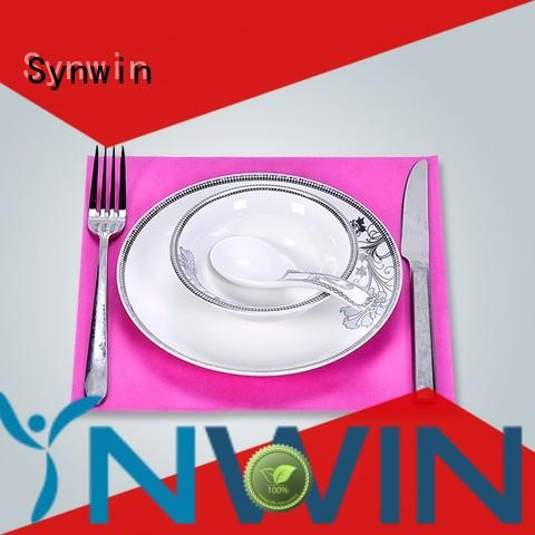 Synwin non woven fabric placemats factory price for home