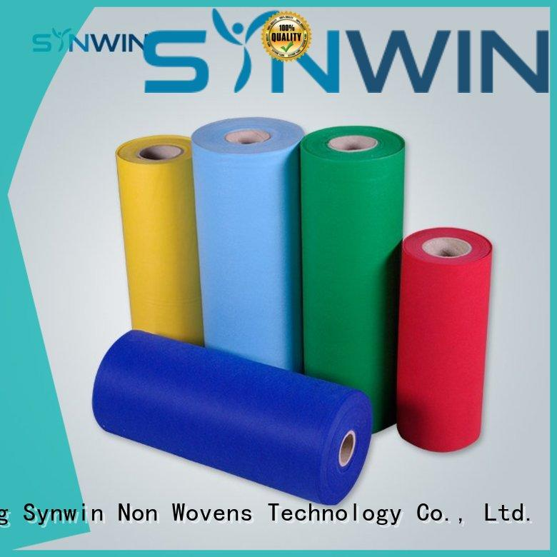Synwin Non Wovens Brand disposable pp woven fabric customized factory