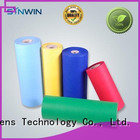 nontoxic using cloth Synwin Non Wovens Brand pp woven fabric