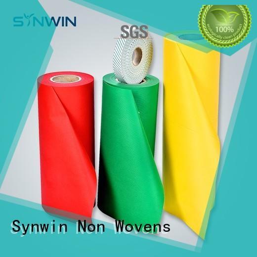 Synwin Non Wovens Brand bib white block pp non woven fabric