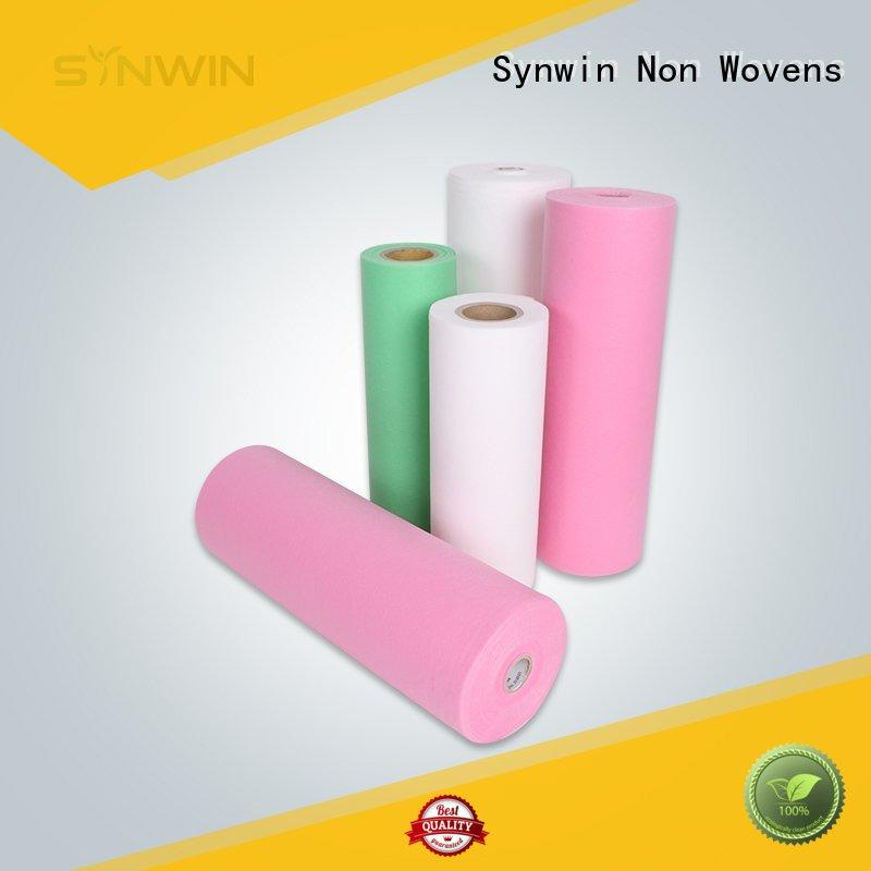 Hygienic SS Spunbond Nonwoven with Light Colors