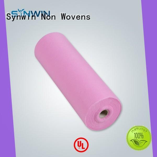 Synwin oem spunbond polyester design for hotel