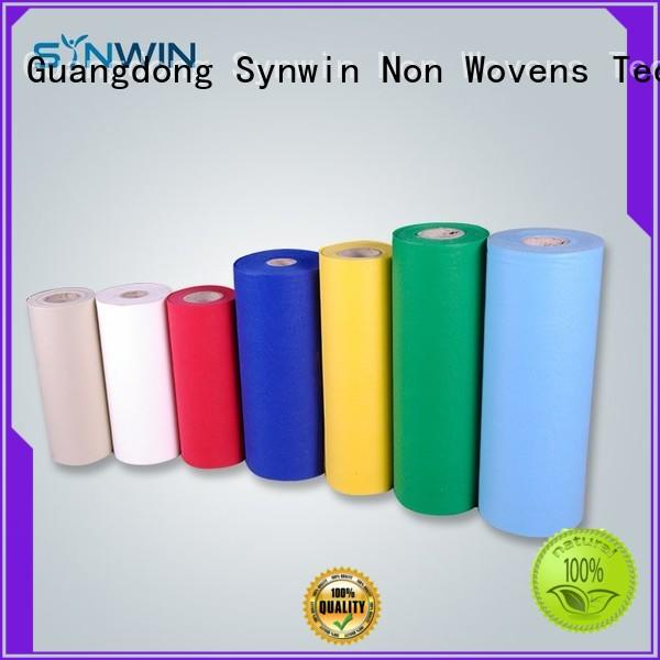 Synwin material pp non woven manufacturer for packaging