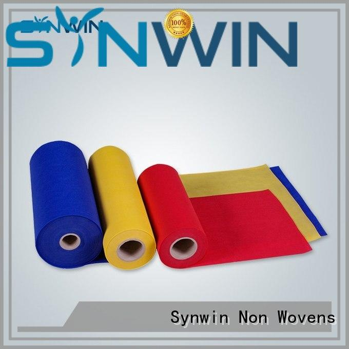 Synwin Non Wovens colorful pp woven fabric from China for household