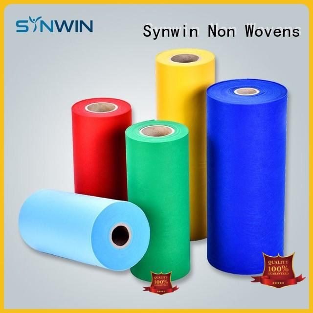 Synwin spunbond polyester with good price for home
