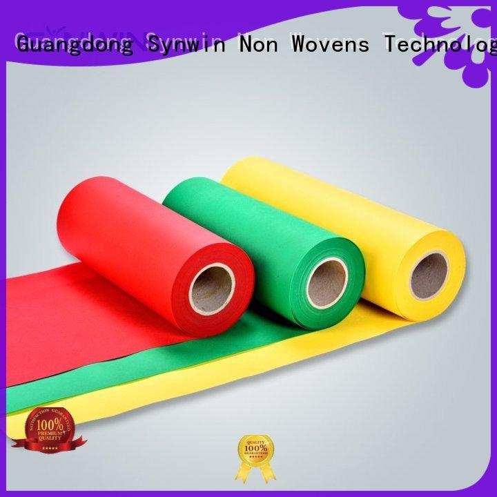 Synwin oem pp non woven fabric from China for wrapping