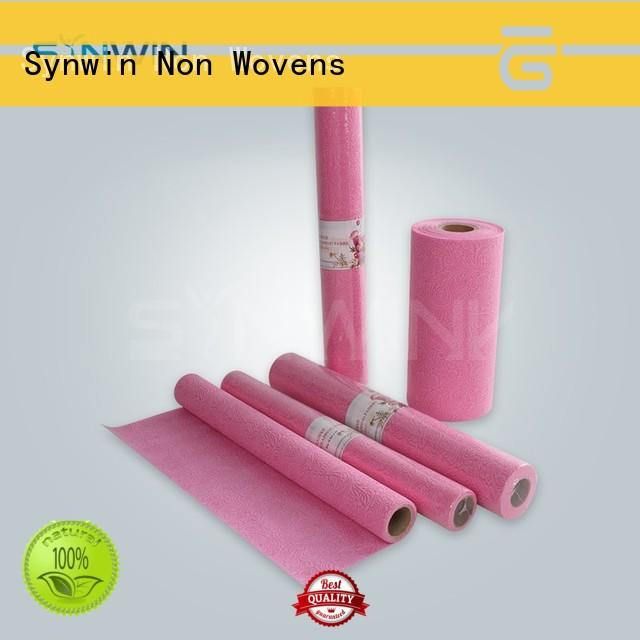 gift wrapping paper embossed for household Synwin Non Wovens