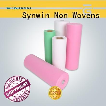 Synwin green pp non woven fabric from China for wrapping