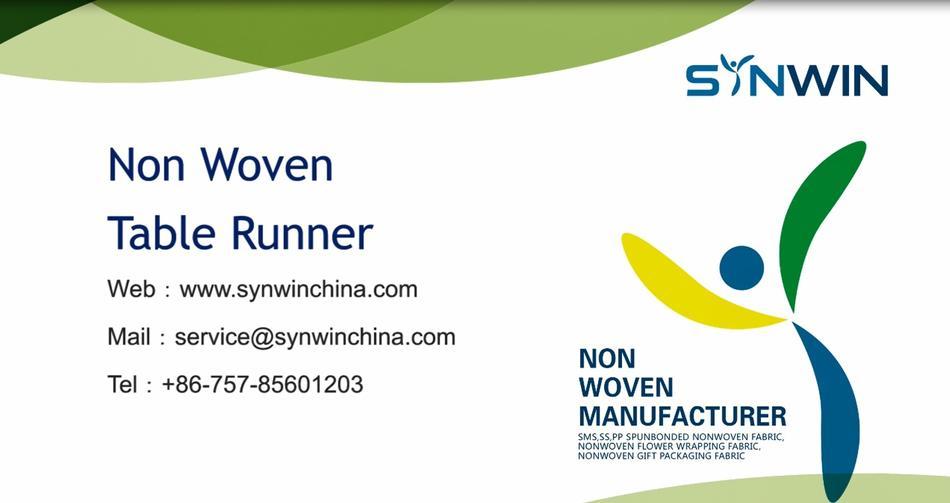 Custom Non Woven Table Runner