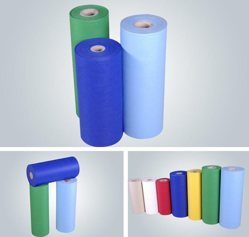 Wholesale Biodegradable Spun Bonded SS  Non Woven Fabric Roll