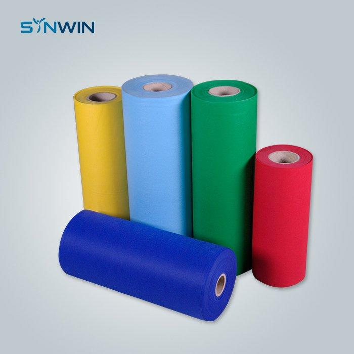 Multi Color Breathable Hydrophobic SS Non Woven Fabric