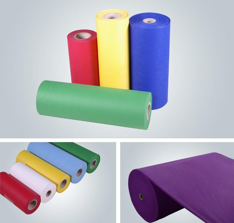 color spunbond polypropylene design for hotel