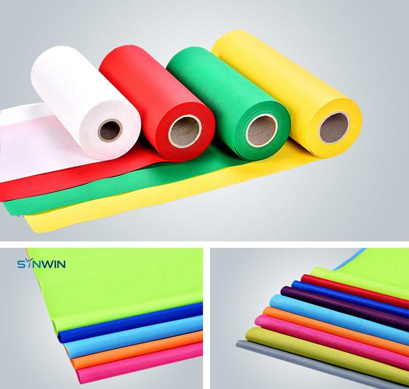 Synwin colorful pp woven fabric manufacturer for packaging