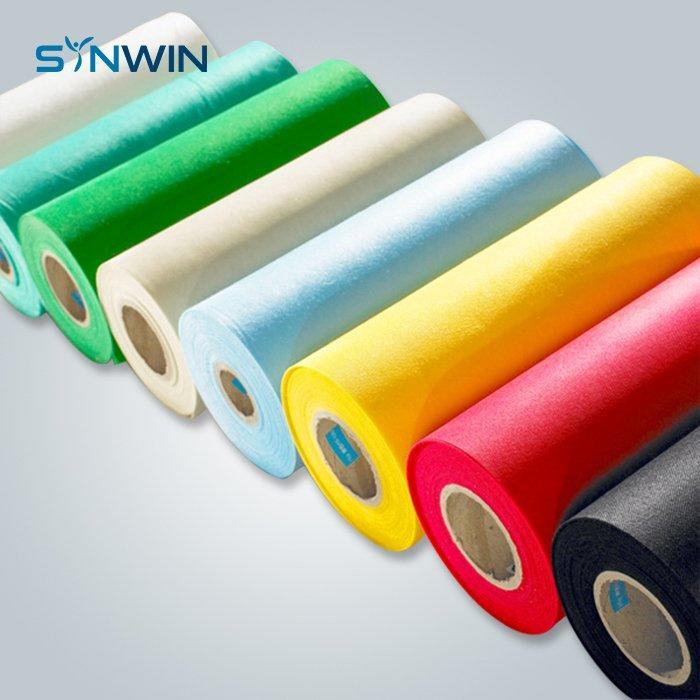 SS Nonwovens With Different Colors For Mattress Quilting Back