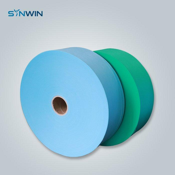 Hospital Use SS Nonwoven fabric Green Blue Color