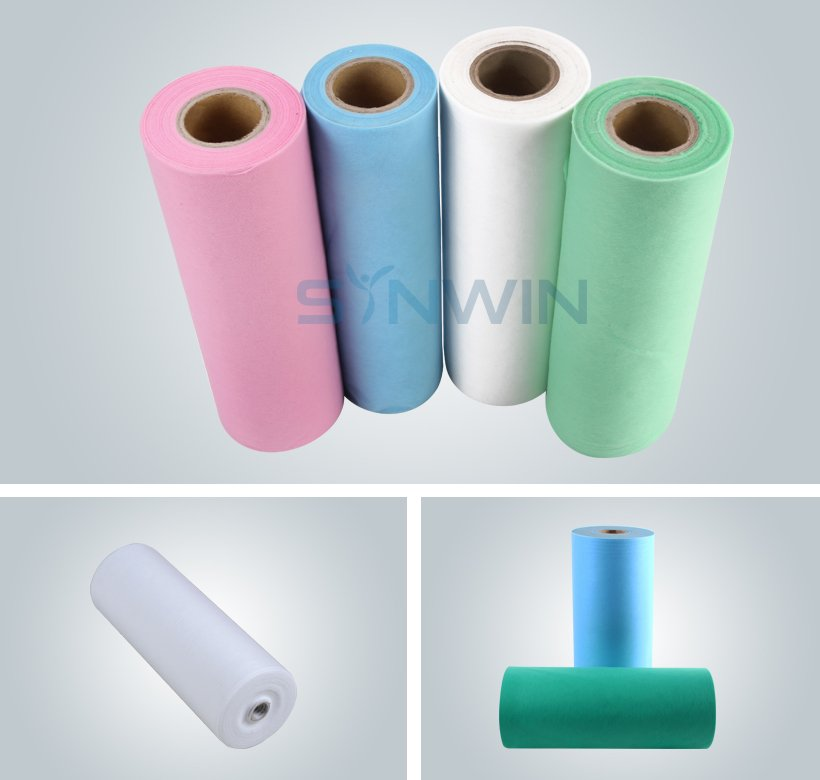 Anti-Bacteria Breathable SS Spunbond Nonwoven for Medical Bedsheet-4