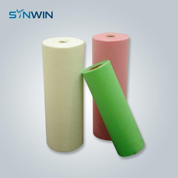 Colorful spunbond non woven fabric