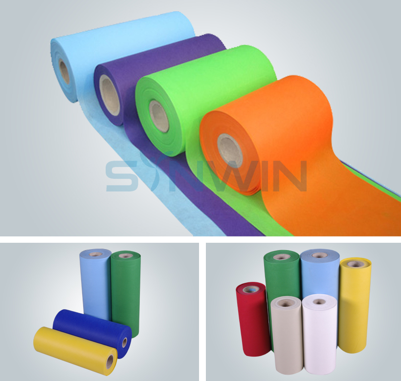Colorful Nontoxic SS Spunbond Nonwoven Fabric-4