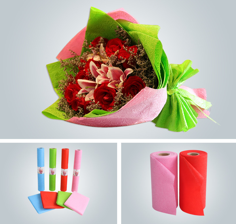 Synwin Non Wovens-High-quality Custom Color Embossed Packaging Flower Wrapping Non Woven-3
