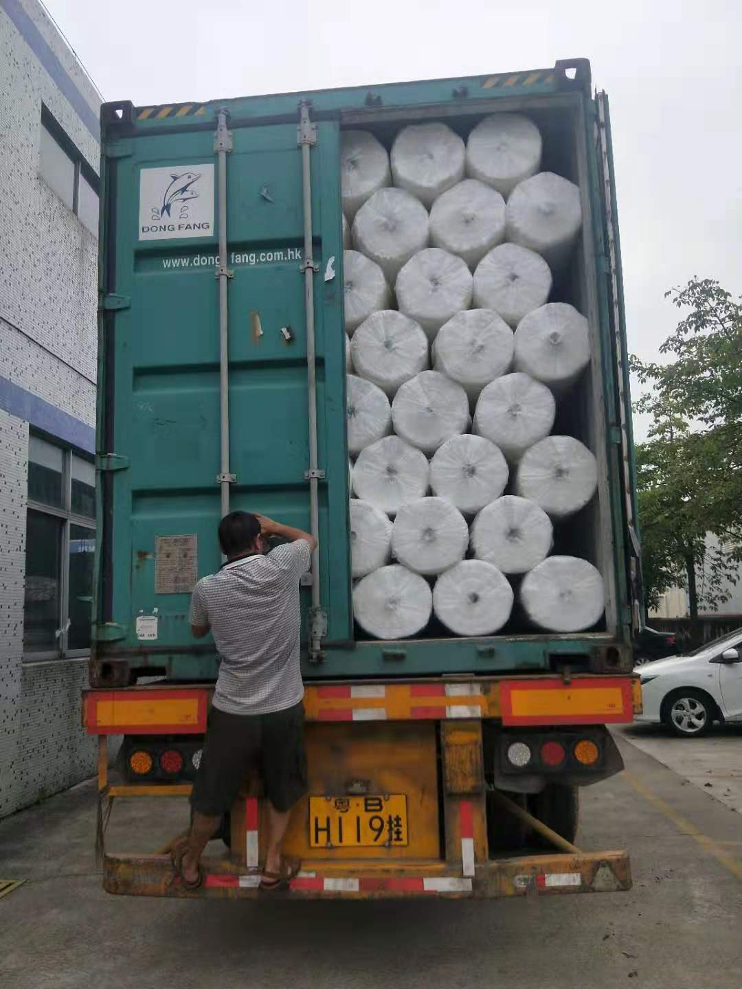 Synwin Non Wovens-10 Container Of Frost Protection Fabric To Pakistan