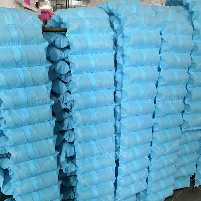 pocket non woven polyester fabric directly sale for packaging