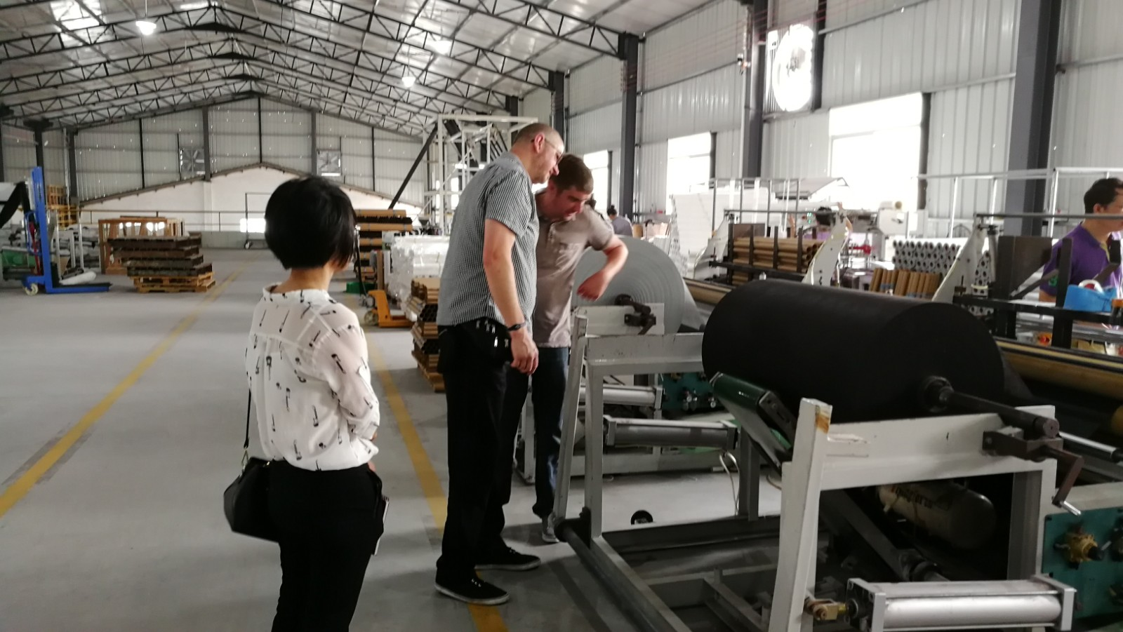 Synwin Non Wovens-Visit Landscape Fabric Factory, Guangdong Synwin Non Wovens Technology Co, Ltd-1