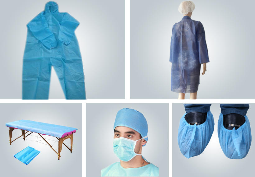 long-lasting woven polypropylene fabric from China for hospital