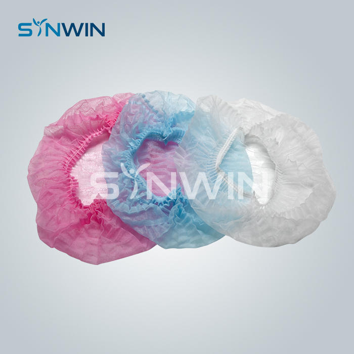 Disposable Non Woven Fabric Protective Head Cover Cap Products