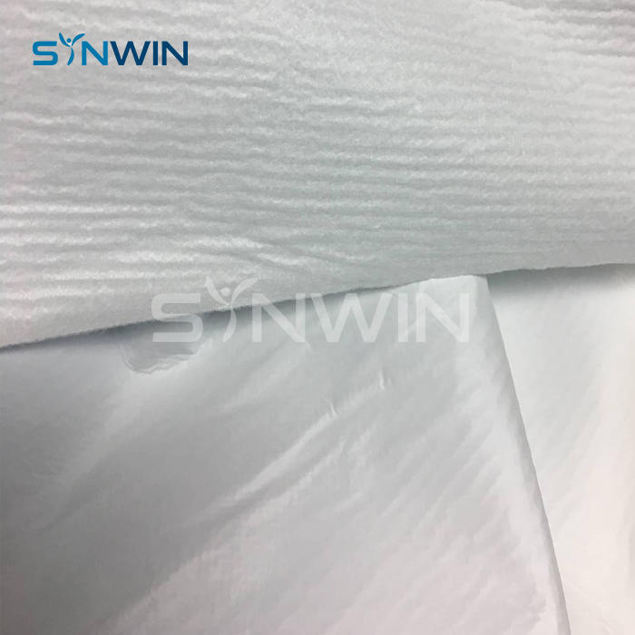 PP+PE Disposable Medical Gowns Laminated TNT Nonwoven Fabric