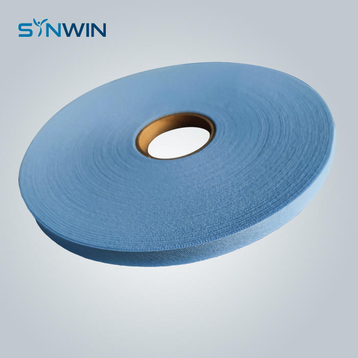 Surgical Face Mask Nonwoven Ties Fabric Blue 2cm Width