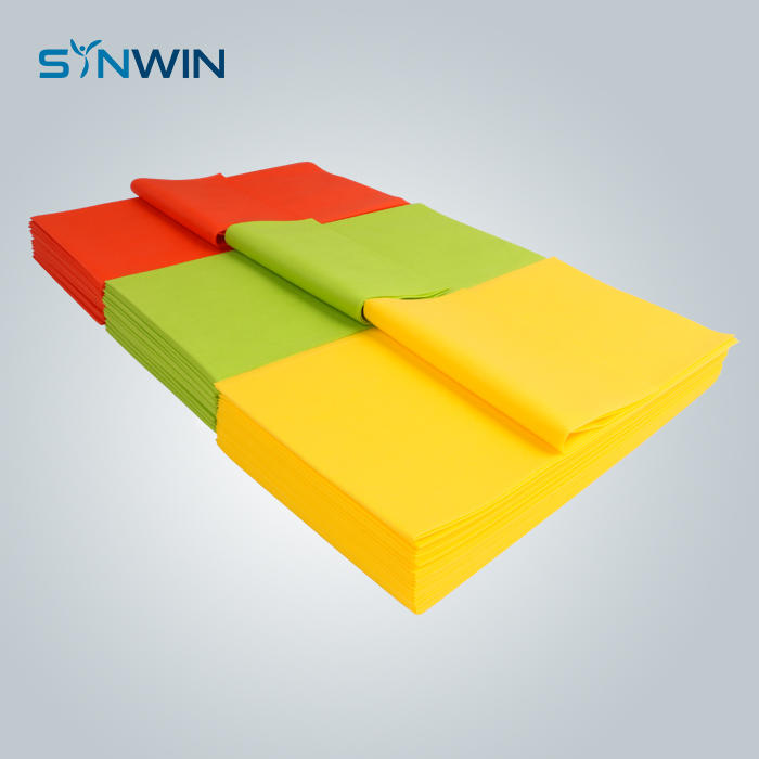 Custom Biodegradable Nonwoven Table Cloth TNT Table Mat Suppliers
