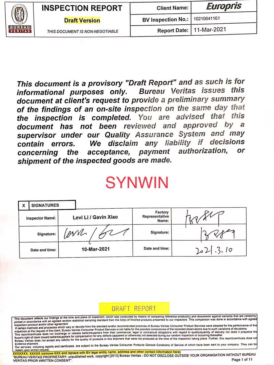 news-Non woven fabric manufacturer inspection booking form-Synwin-img